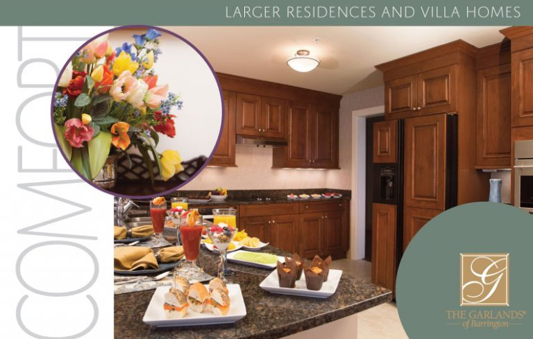 Larger Residences Floor Plans