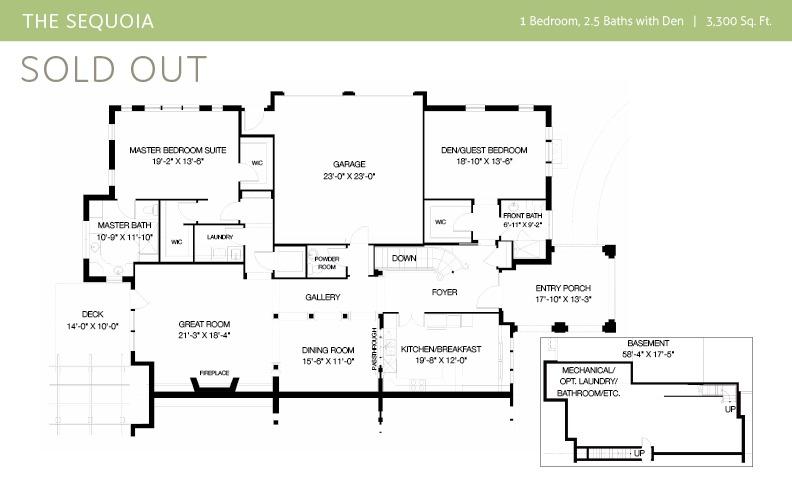View The Sequoia Floor plan