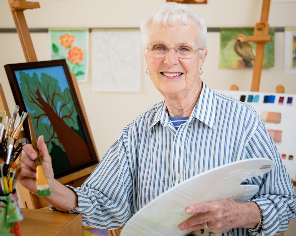 Marlene Peterson painting