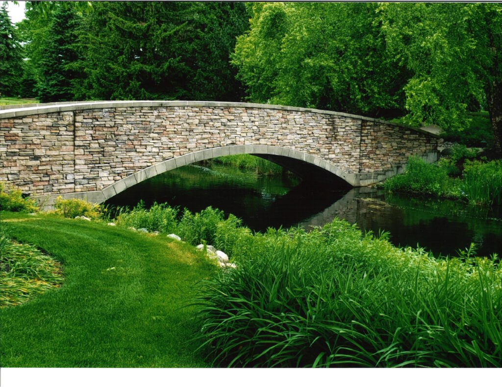 The Garlands bridge