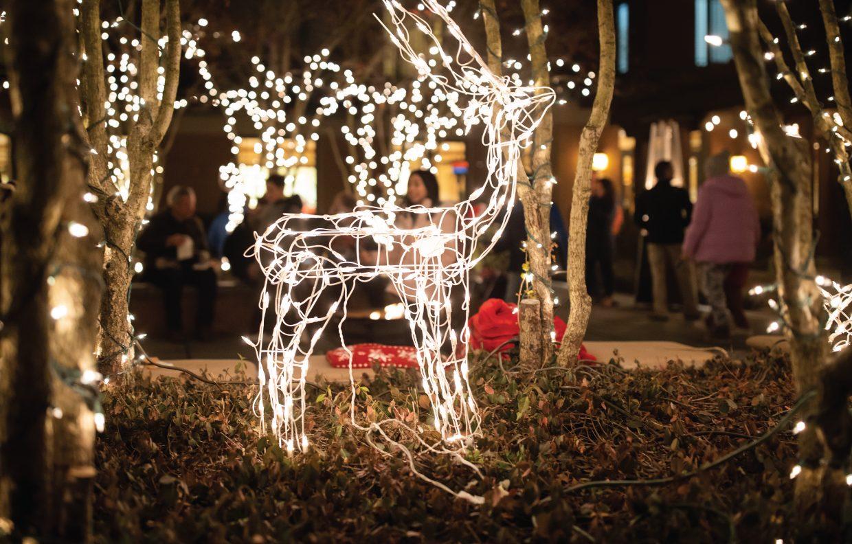 Lit Reindeer Decoration