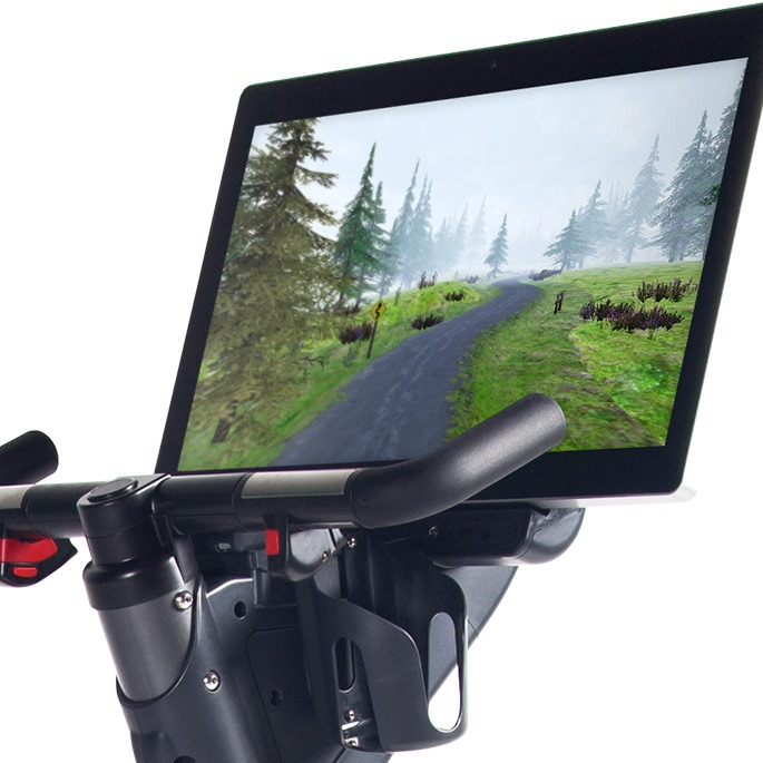 Terrain image on CyberCycle Touchscreen