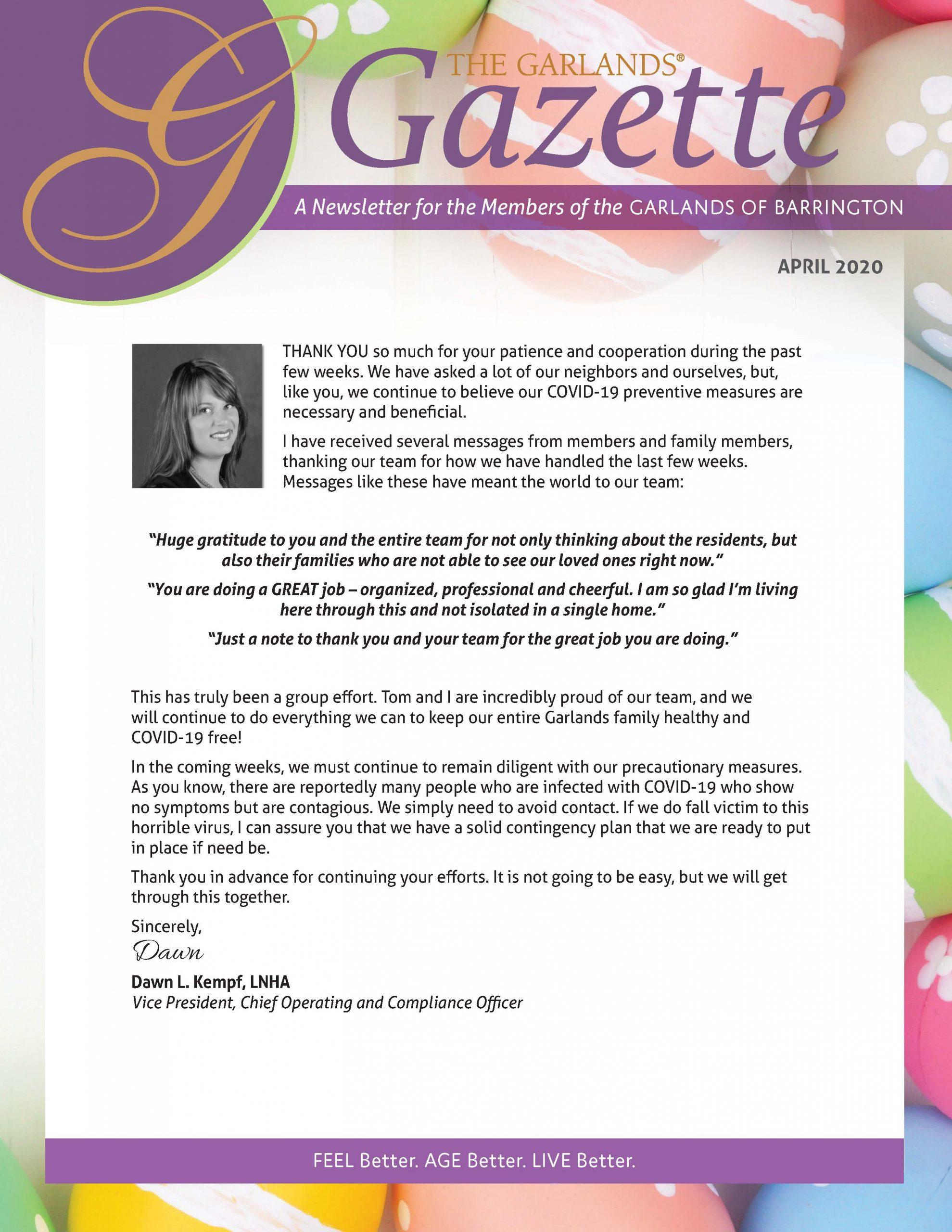 April Gazette
