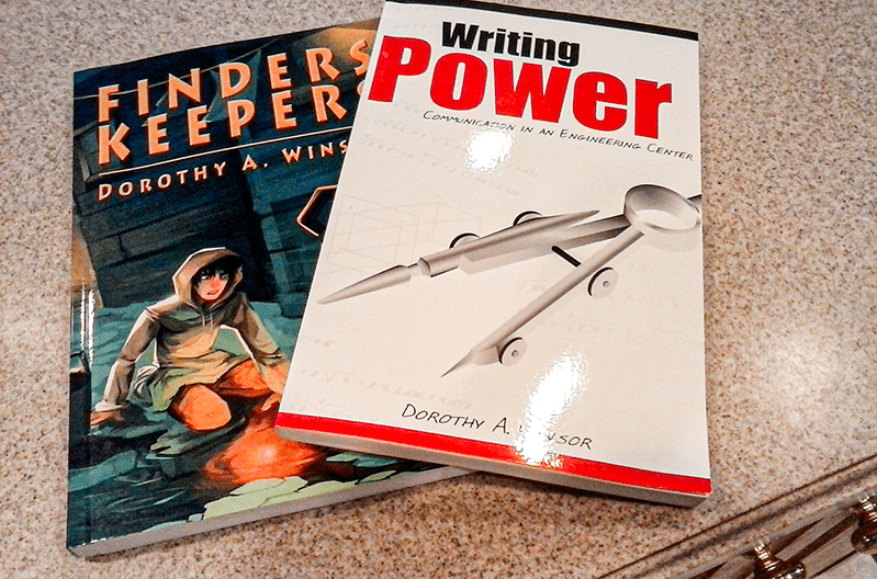 Books Finders Keepers and Writing Power