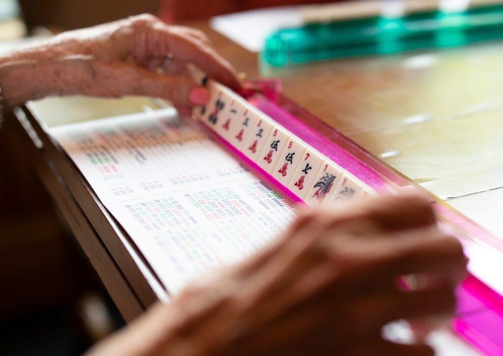 Mahjong Tile Tray
