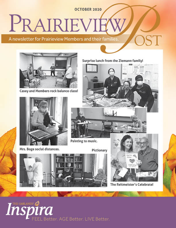 Prairieview Post October Cover