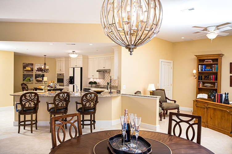 Formal Dining Space and Den