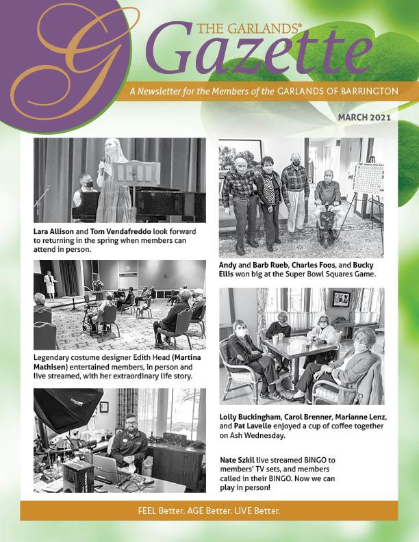 March Gazette Cover