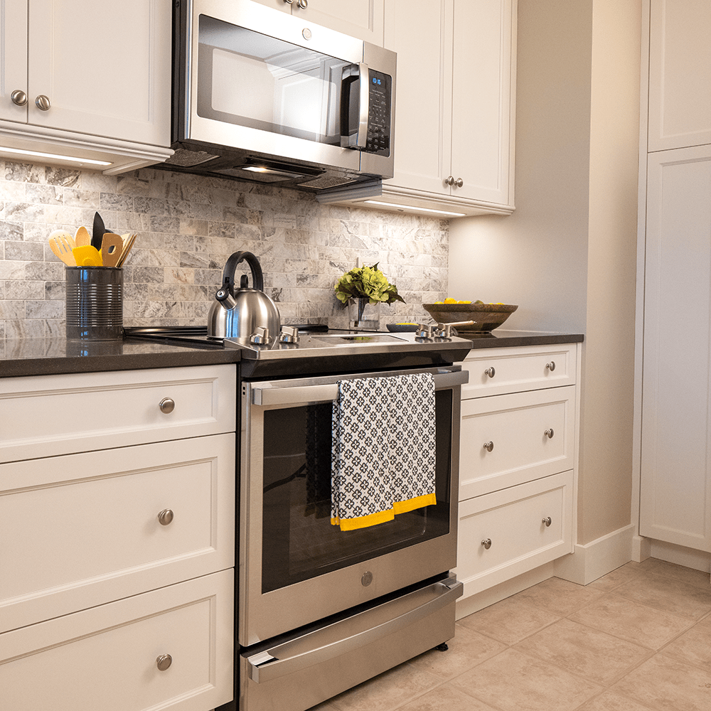 Limited edition microwave, oven and cabinetry