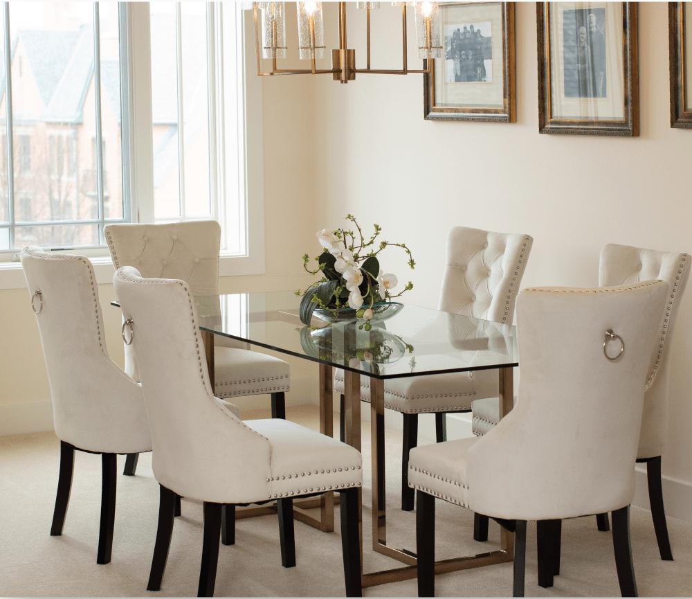 Elegant Open Dining Room